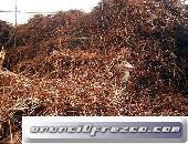 Vender una importante cantidad de cables de cobre puro st basura mano desnuda