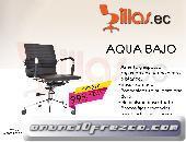 silla de oficina Aqua baja