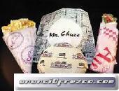 Papel para Envolturas Anti-grasa desde 100 unidades Envíos a Nivel Nacional