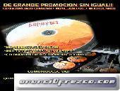 CD Impresión Copiado y Impresión