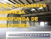 Telf 0996818473 LIMPIEZA PROFUNDA DE BODEGAS Y GALPONES