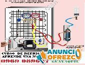 CURSO DE REFRIGERACION GUAYAQUIL APRENDE REPARACION DE NEVERA CONGELADOR SPLIT VENTANA 0969089097